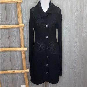 Patagonia Merino Wool Cardigan Sweater Dress Knit